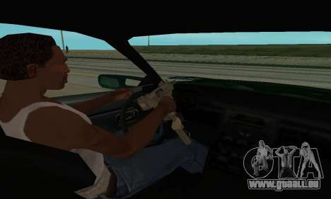 Nissan Skyline R34 Sunray (FlatOut 2) pour GTA San Andreas vue arrière