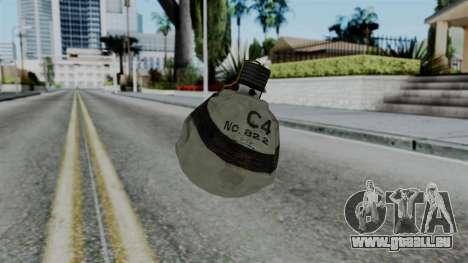 CoD Black Ops 2 - Semtex pour GTA San Andreas deuxième écran