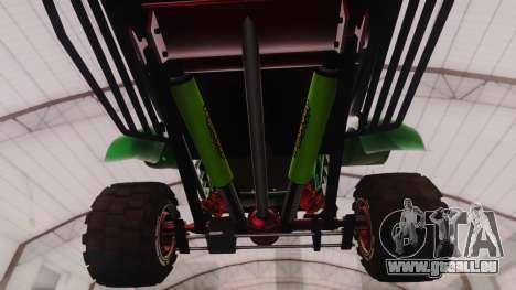 Mudmonster pour GTA San Andreas vue arrière