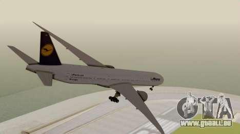 Boeing 777-9x Deutsche Lufthansa pour GTA San Andreas laissé vue
