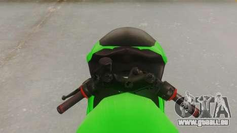 Bajaj Pulsar 200FS für GTA San Andreas Rückansicht