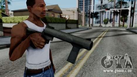 Vice City Beta Grenade Launcher für GTA San Andreas dritten Screenshot