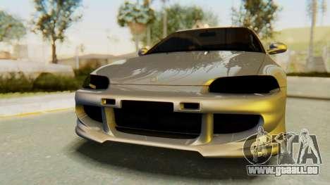 Honda Civic Vti 1994 V1.0 IVF für GTA San Andreas Innenansicht