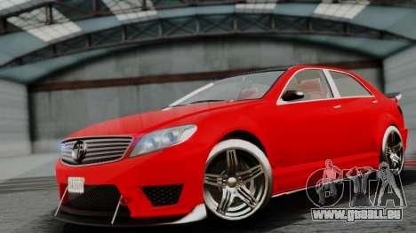 GTA 5 Benefactor Schafter V12 IVF pour GTA San Andreas