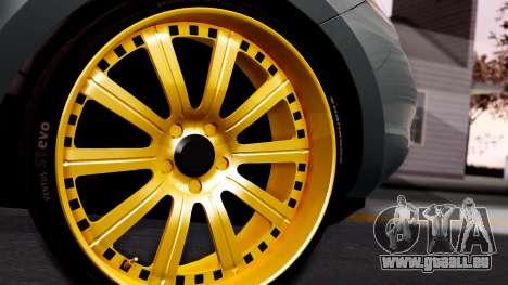 Hyundai Santa Fe pour GTA San Andreas sur la vue arrière gauche
