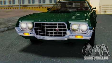 Ford Gran Torino Sport SportsRoof (63R) 1972 IVF für GTA San Andreas rechten Ansicht