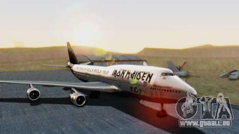 Boeing 747-428 Ed Force One pour GTA San Andreas