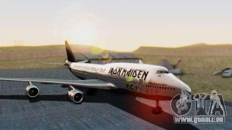 Boeing 747-428 Ed Force One für GTA San Andreas