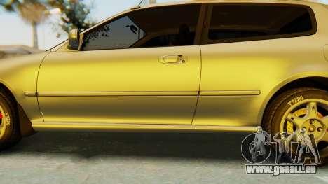 Honda Civic Vti 1994 V1.0 IVF für GTA San Andreas