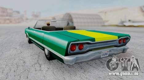 Savanna F&F4 Chevy PJ pour GTA San Andreas laissé vue