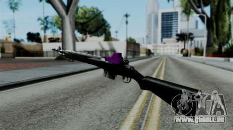 Purple Rifle für GTA San Andreas zweiten Screenshot