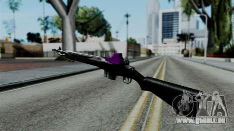 Purple Rifle für GTA San Andreas zweiten Screenshot