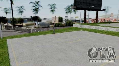 New Basketball Court pour GTA San Andreas deuxième écran