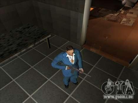 Eine Reihe von Russischen Waffen für GTA San Andreas her Screenshot