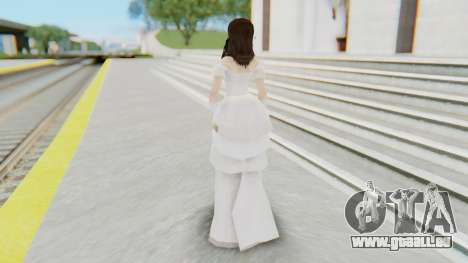 Lin Chi-Ling Bride Outfit pour GTA San Andreas troisième écran