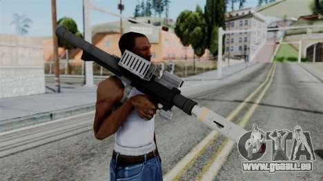 GTA 5 Homing Launcher - Misterix 4 Weapons für GTA San Andreas dritten Screenshot