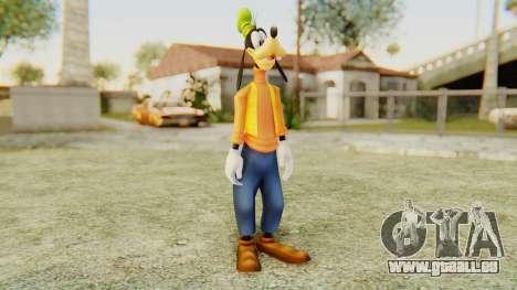 Kingdom Hearts 2 Goofy für GTA San Andreas zweiten Screenshot