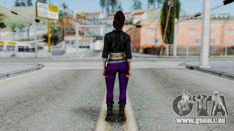 Shaundi from Saints Row pour GTA San Andreas troisième écran