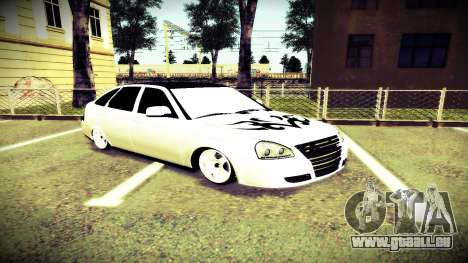 Lada 2172 Mansory pour GTA San Andreas