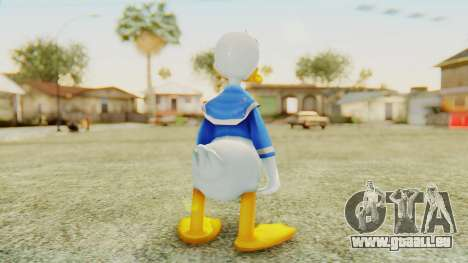 Kingdom Hearts 2 Donald Duck v2 pour GTA San Andreas troisième écran