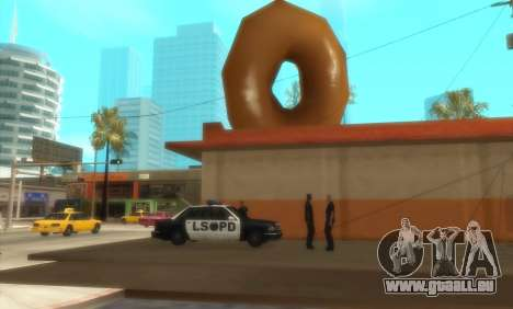 Police De La C. R. A. S. H pour GTA San Andreas