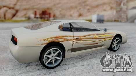 Jester F&F4 RX-7 PJ für GTA San Andreas zurück linke Ansicht
