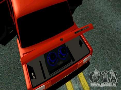 VAZ 2107 Rang Rover Edition für GTA San Andreas Rückansicht
