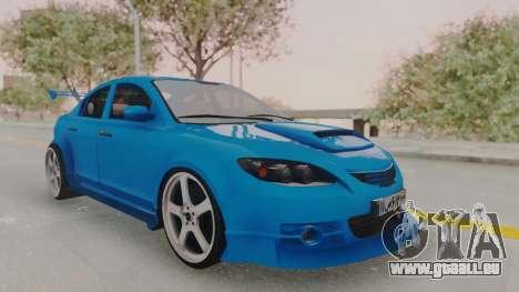 Mazda 3 Full Tuning für GTA San Andreas
