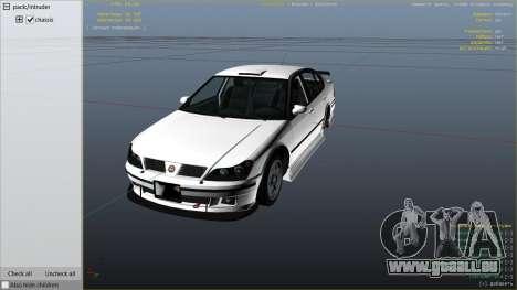 GTA 5 GTA 4 Lokus droite vue latérale