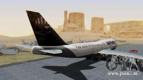 Boeing 747-428 Ed Force One für GTA San Andreas linke Ansicht