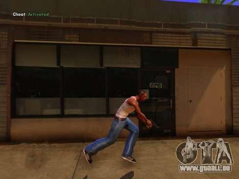 Realistische animation 2016 für GTA San Andreas zweiten Screenshot