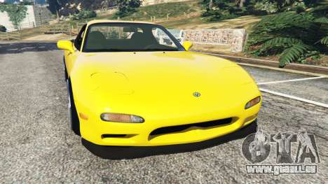 Mazda RX-7 FD3S Stanced [without camber] v1.1 für GTA 5