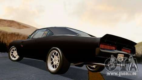 Dodge Charger from FnF4 für GTA San Andreas linke Ansicht