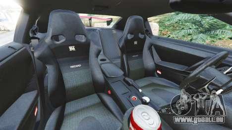 GTA 5 Nissan GT-R (R35) [LibertyWalk] v1.1 droite vue latérale