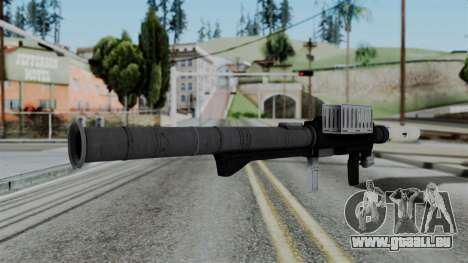 GTA 5 Homing Launcher - Misterix 4 Weapons für GTA San Andreas zweiten Screenshot