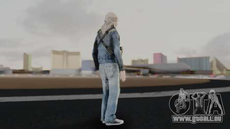 Somalia Militia Desert Camo pour GTA San Andreas troisième écran