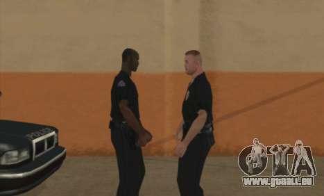 Police De La C. R. A. S. H pour GTA San Andreas deuxième écran