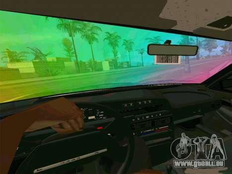 VAZ 21099 Gvr pour GTA San Andreas sur la vue arrière gauche