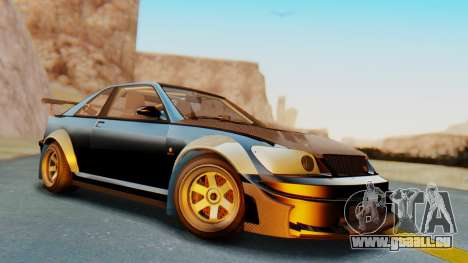 GTA 5 Karin Sultan RS Carbon IVF pour GTA San Andreas