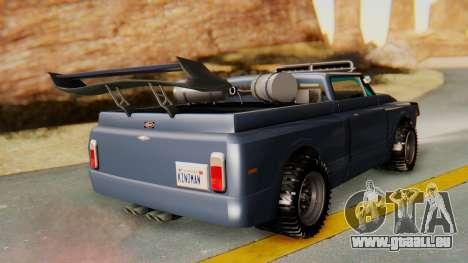 Slamvan v2.0 für GTA San Andreas linke Ansicht