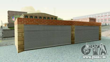 HD Doherty Garage für GTA San Andreas dritten Screenshot