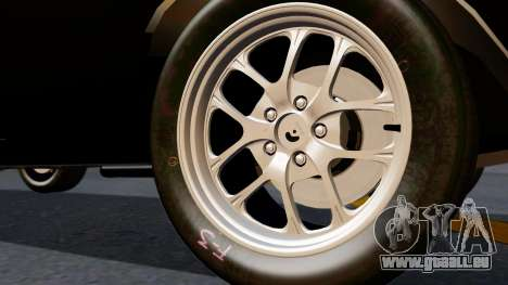 Dodge Charger from FnF4 pour GTA San Andreas sur la vue arrière gauche