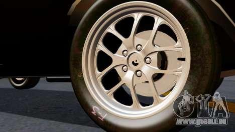 Dodge Charger from FnF4 für GTA San Andreas zurück linke Ansicht