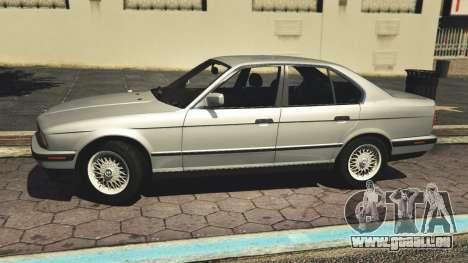 GTA 5 BMW 535i E34 v1.1 linke Seitenansicht