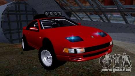 Nissan 300ZX Rusty Rebel pour GTA San Andreas