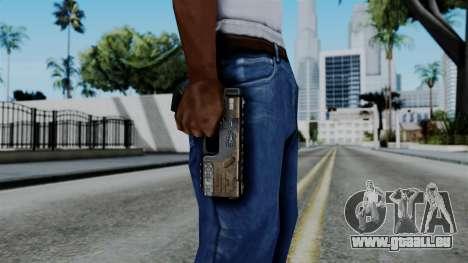 CoD Black Ops 2 - KAP-40 pour GTA San Andreas troisième écran