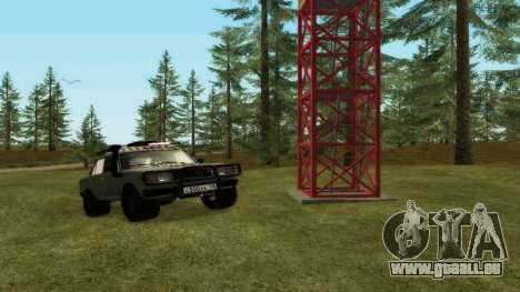 VAZ 2107, 4x4 für GTA San Andreas
