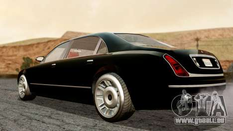 GTA 5 Enus Cognoscenti L für GTA San Andreas zurück linke Ansicht