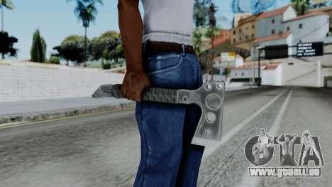 CoD Black Ops 2 - Tomahawk pour GTA San Andreas troisième écran