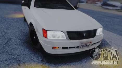 GTA 5 Vulcar Ingot IVF für GTA San Andreas Innenansicht